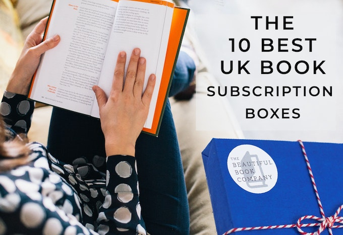 The 10 Best UK Book Subscription Boxes Header