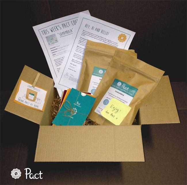 Pact Coffee Box