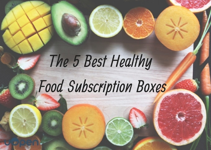 The 5 Best Healthy Food Subscription Boxes Header