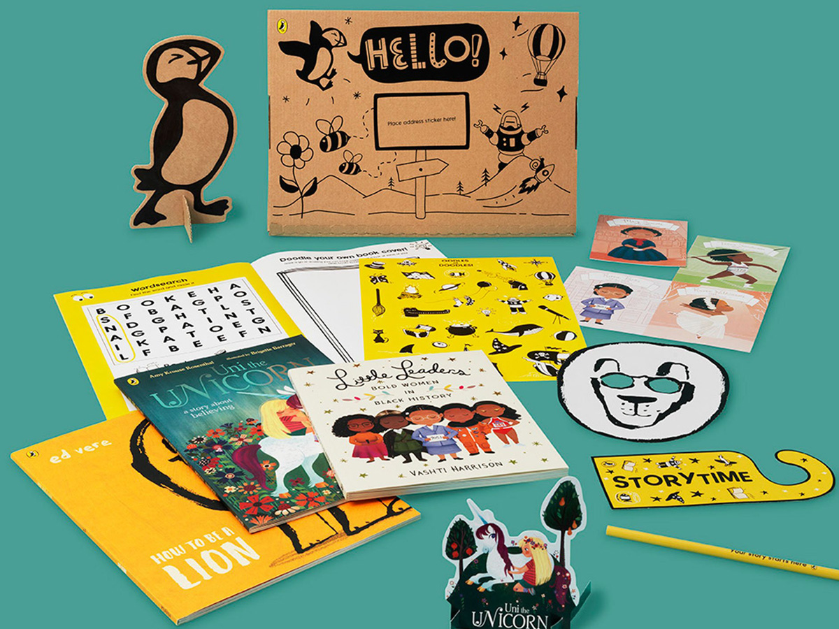Puffin launches picture book subscription box