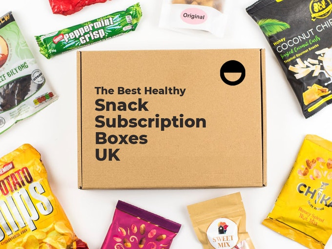 Best Healthy Snack Subscription Boxes UK Header