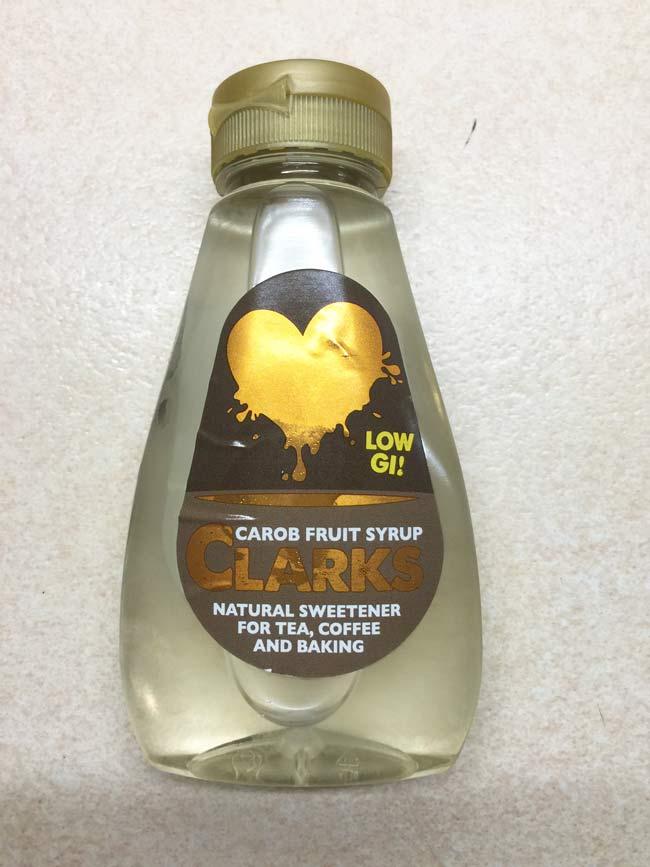 Clark's Carob Fruit Syrup