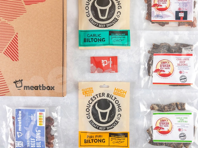 Meatbox cured meat snack box