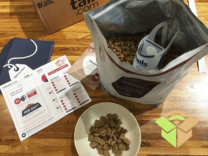 tails review online dog food delivery
