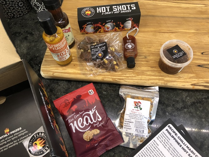 Flaming Licks: Hot Sauce Box | Staff Review Header