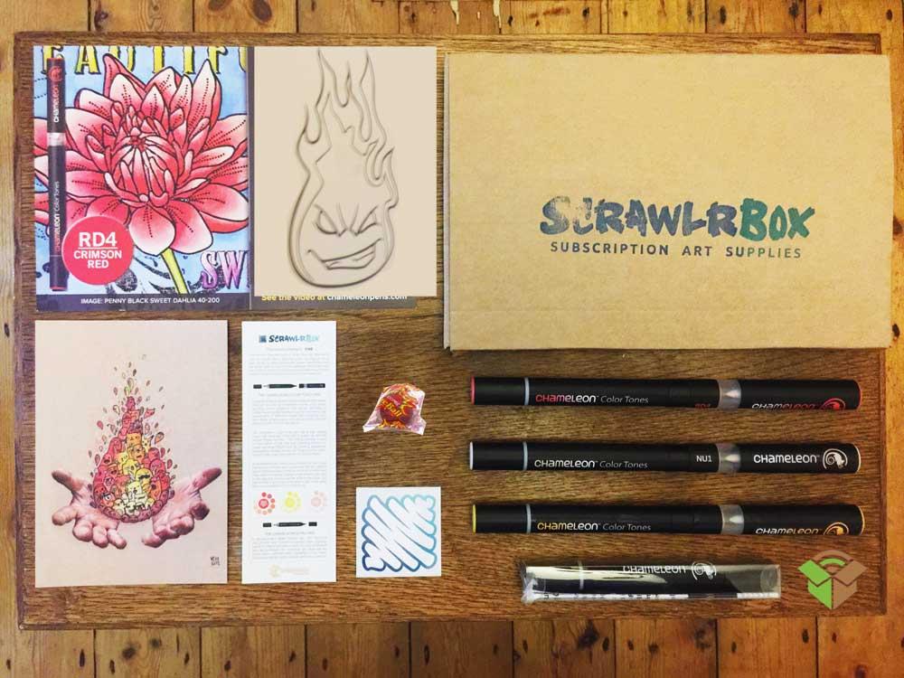 ScrawlrBox – Art Subcription Box UK