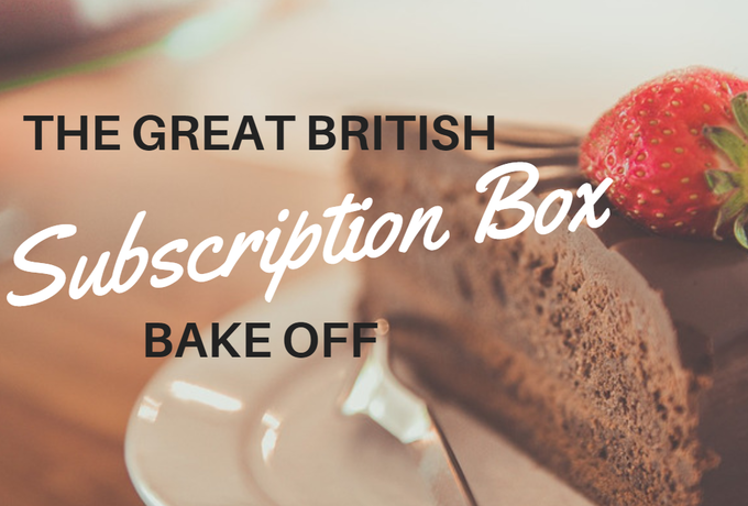 The Great British Subscription Box Bake Off Header