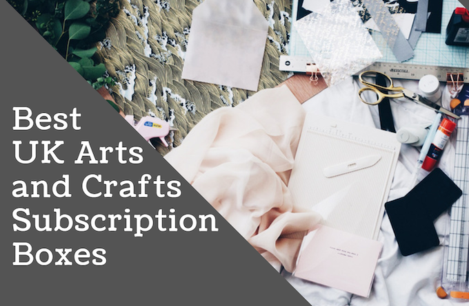 The Best UK Arts and Crafts Subscription Boxes Header