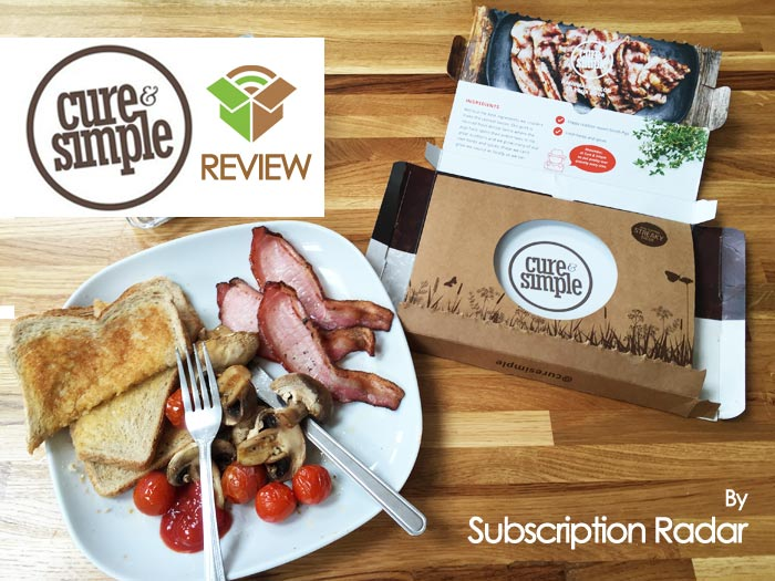 Cure and Simple Review -UK Bacon Delivery