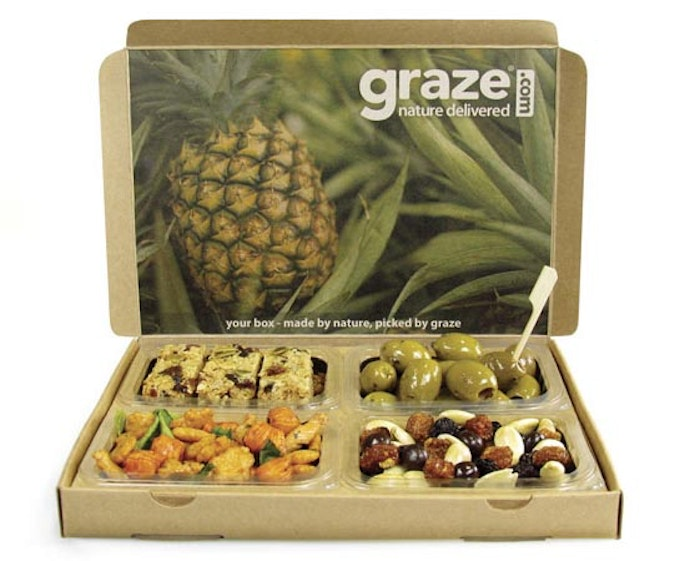 Healthy Snack Boxes for men from Graze