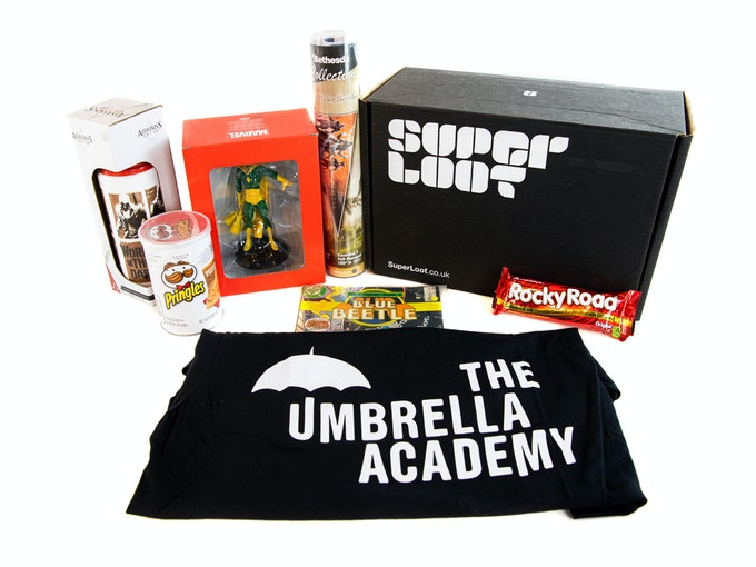 Super Loot Unboxing Video Header