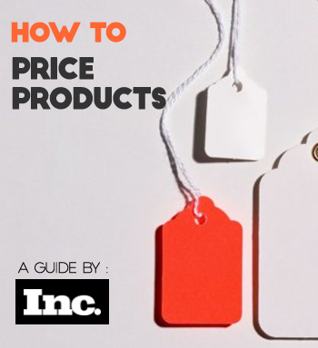 A further guide on getting your pricing right by Inc