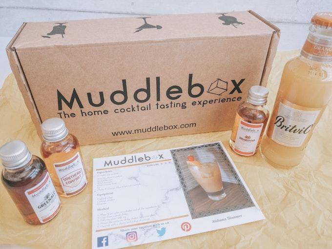 Muddlebox Review - May 2020 - Home Cocktail Box Header