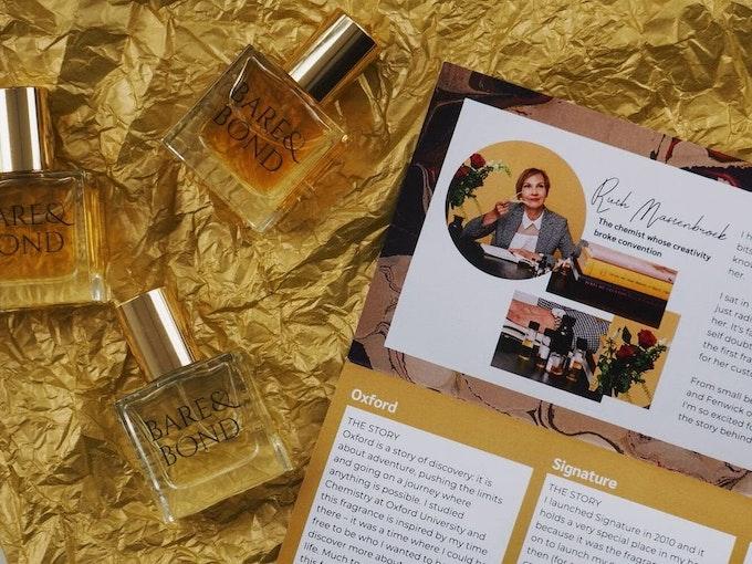 Bare and Bond Perfume Subscription