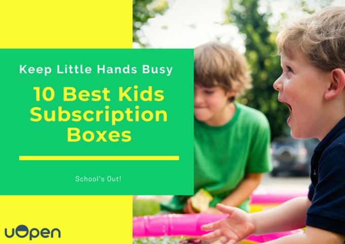 The 10 Best Kids Subscription Boxes Header