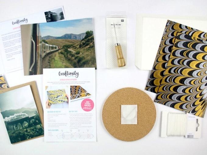 Craftiosity craft subscription box for women
