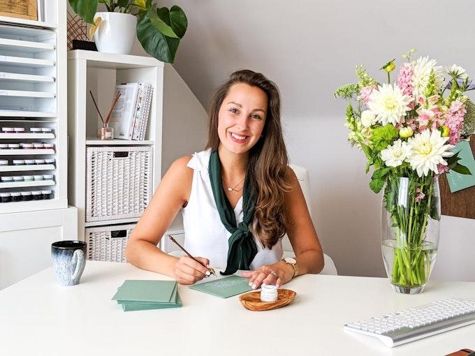 Jenni Liandu Calligraphy  | Meet The Maker Header