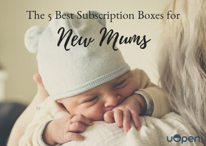 The 5 Best Subscription Boxes For New Mums Header