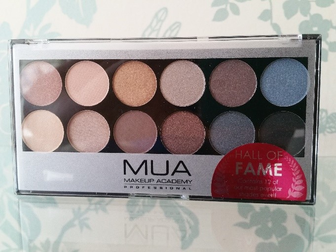 MUA Eye Shadow Palette