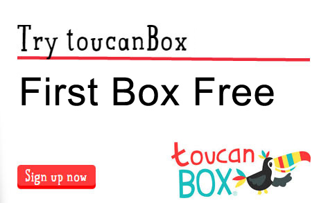 Toucan box delivered