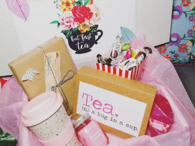 Book And Tea Mystery Box