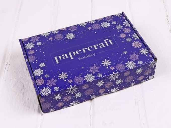 Papercraft subscription boxes