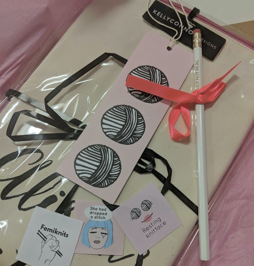 Kelly Connor Designs Knitting Box   Staff Review