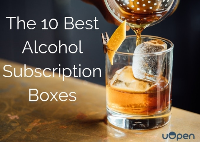 The 10 Best Alcohol Subscription Boxes Header