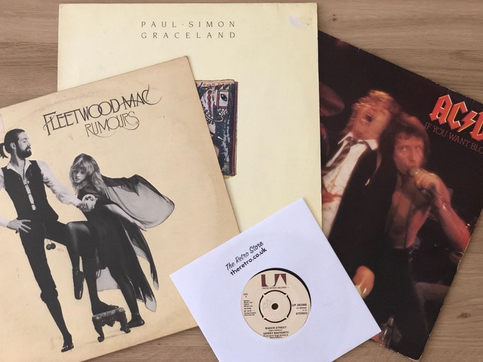 Staff Picks - The Retro Store Monthly Vinyl Club Review Header