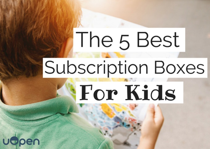 The 5 Best Subscription Boxes For Kids Header