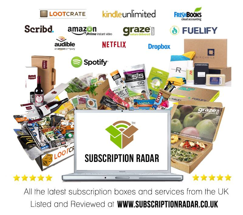UK Subscription Boxes and Services for 2015