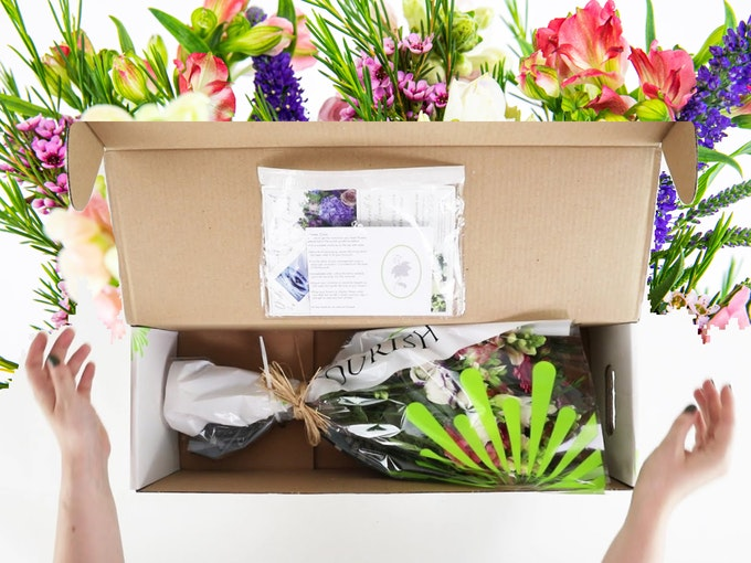 Unboxing Video - Flowers by Flourish Header