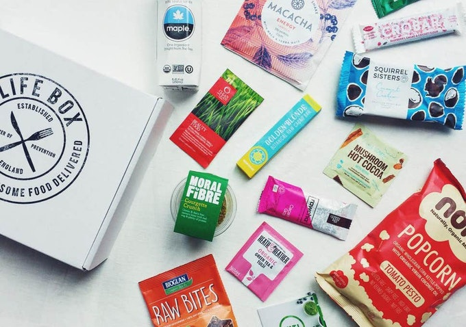 The Lifebox Healthy Food and Snacks