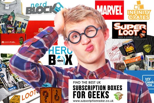 Best Geek Subscription Boxes UK
