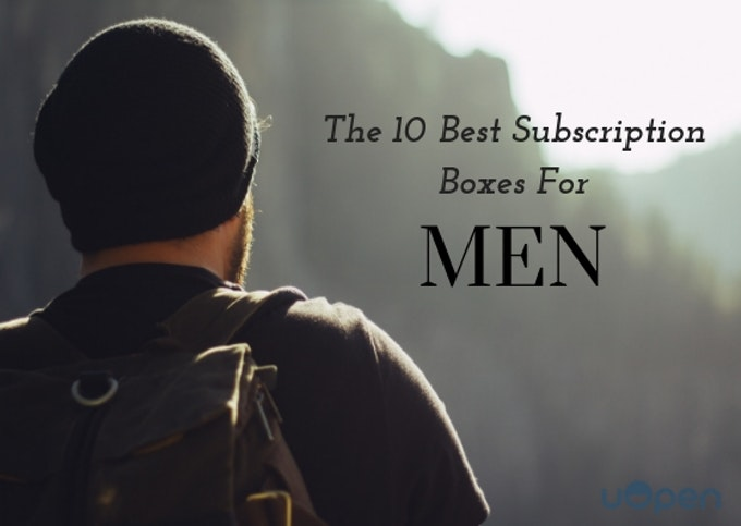 The 10 Best Subscription Boxes For Men Header