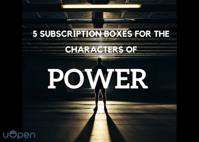 5 Subscription Boxes For The Characters of Power Header