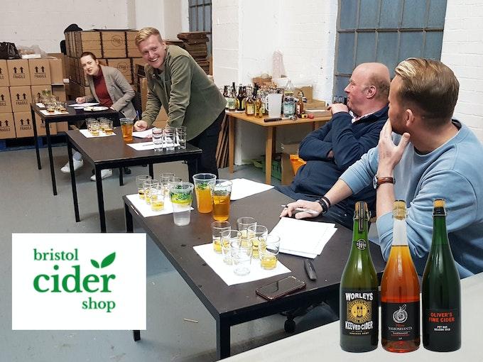 Cider Subscription Box from Bristol Cider Shop | Meet the Maker Header
