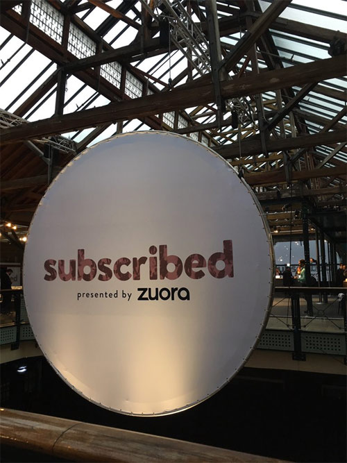 Subscribed by Zuora