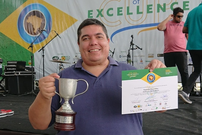 coffee cup of excellence winner 2019