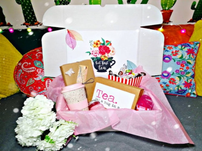 Book And Tea Mystery Box for Women
