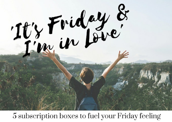 5 Best Friday Feeling Subscription Boxes Header