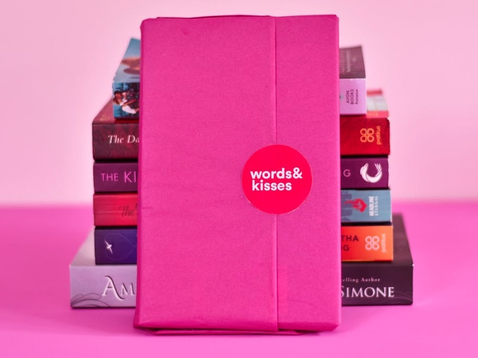 Words and Kisses Romance Book Box
