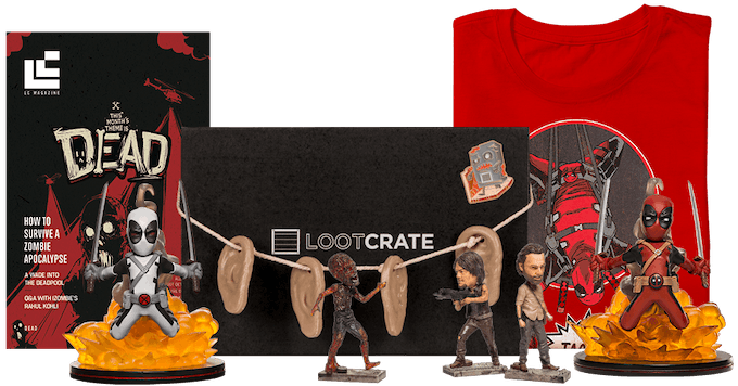 Dead Past Loot Crate Review