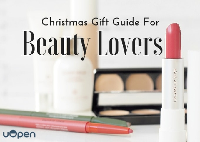 The Ultimate Gift Guide For Beauty Lovers Header