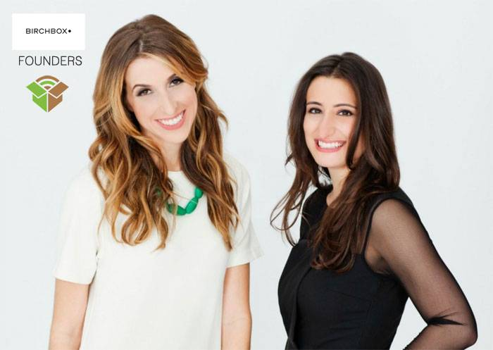 BirchBox Founders Hayley Barna and Fatia Beauchamp