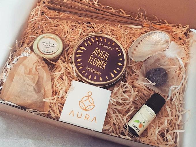 Aura kits healing box