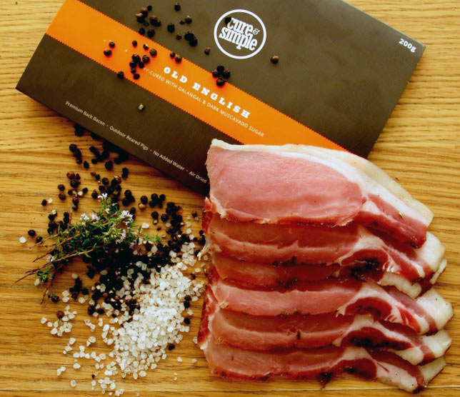 Cure and simple bacon subscription box