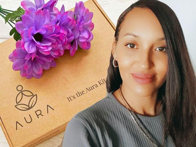 Aura Healing  Kits | Meet The Maker Header
